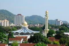 Мечеть положения Penang в Penang стоковое изображение rf
