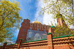 Мечеть собора самары Стоковое Изображение