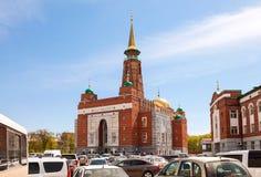 Мечеть собора самары стоковые фотографии rf