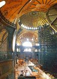 Мечеть Стамбул Hagia Sophia панорамный стоковые изображения