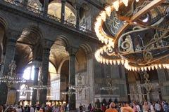 Мечеть Стамбул Sainte-Sophie (Hagia Sophia), Турция стоковое изображение