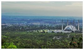 Мечеть столицы Стоковые Изображения RF