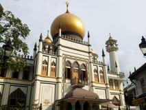Мечеть султана (султан) Masjid Сингапур Стоковые Фото