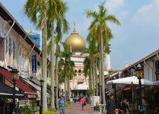 Мечеть султана Masjid Стоковые Фотографии RF