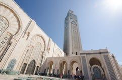 Мечеть Хасана II, Марокко стоковые изображения