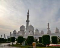Мечеть шейха Zayed в Абу-Даби Стоковые Изображения