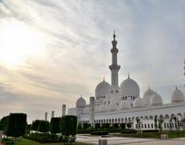 Мечеть шейха Zayed в Абу-Даби Стоковые Фото
