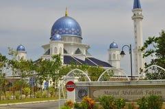 Мечеть Abdullah Fahim которая носит имя отца 5-ого премьер-министра Малайзии стоковые изображения rf