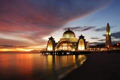 мечеть afload Стоковая Фотография