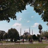 Мечеть Ahmed султана стоковое изображение