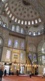 Мечеть ahmet султана голубая, Стамбул в индюке Стоковая Фотография RF