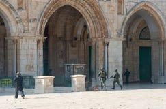 Мечеть al-Aqsa Стоковое фото RF