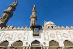 Мечеть al-Azhar, Каир, Египет Стоковое Фото