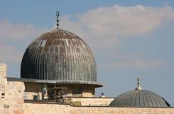 Мечеть Aqsa Al в Иерусалиме, Израиле Стоковая Фотография RF