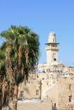 Мечеть Aqsa Al в Иерусалиме, Израиле Стоковая Фотография