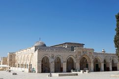 Мечеть Aqsa Al Стоковое Изображение RF