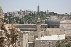 Мечеть Aqsa Al стоковые фотографии rf
