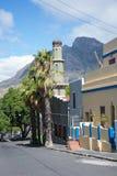 Мечеть Auwal в bo-Kaap, Кейптауне Стоковые Изображения RF