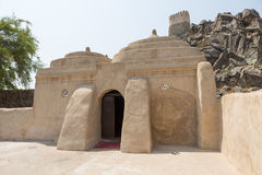 Мечеть Badiyah Al или мечеть тахты самая старая мечеть в ОАЭ Стоковая Фотография RF