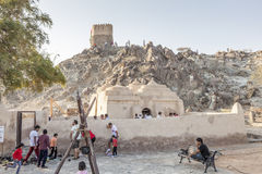 Мечеть Badiyah Al, ОАЭ стоковая фотография rf