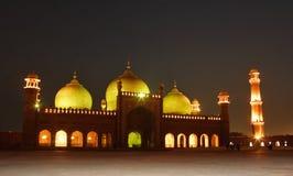 мечеть badshahi стоковое фото rf