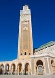 мечеть casablanca hassan ii Стоковое фото RF