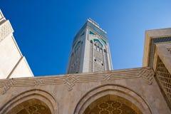 мечеть casablanca hassan ii Стоковая Фотография