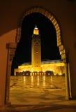 мечеть casablanca hassan ii Стоковые Фотографии RF