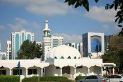 мечеть dhabi ahu традиционная Стоковые Изображения
