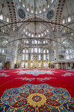 Мечеть Fatih в районе Стамбула, Турции Стоковые Изображения