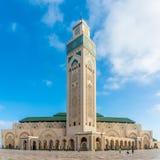 Мечеть Hasan II в Касабланке - Марокко Стоковое Изображение