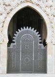 мечеть hassan ii входа Стоковая Фотография
