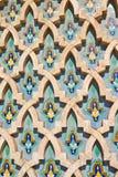 мечеть hassan ii детали casablanca Стоковое Изображение