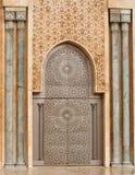 мечеть hassan ii детали casablanca Стоковые Изображения RF