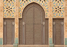 мечеть hassan ii детали casablanca Стоковые Изображения
