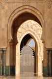 мечеть hassan ii детали casablanca Стоковое Фото