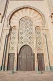 мечеть hassan ii украшения Стоковое Изображение RF