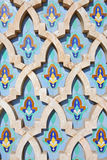 мечеть hassan ii украшения Стоковые Изображения RF