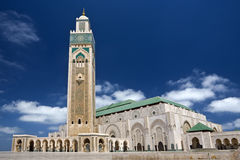 мечеть hassan ii Стоковые Изображения