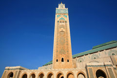 мечеть hassan ii Стоковое фото RF