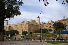 Мечеть Ibrahim, Хеврон, Палестина стоковые изображения rf
