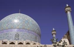 мечеть isfahan стоковое фото