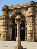 Мечеть Jama Masijd в Ахмадабаде стоковое фото
