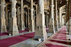 Мечеть Jama Masijd в Ахмадабаде стоковое фото rf