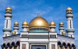 Мечеть Jame'asr Hassanil Bolkiah в Брунее Стоковая Фотография