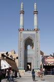 Мечеть Jame, Yazd, Иран, Азия Стоковое Изображение RF