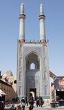 Мечеть Jame, Yazd, Иран, Азия Стоковые Изображения