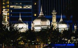 Мечеть Jamek в Puchong Perdana, Малайзии Стоковая Фотография RF