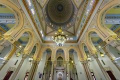 Мечеть Jumeirah грандиозная в Дубай, UAE Стоковое Фото