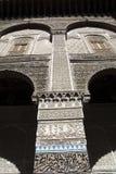 Мечеть Kairaouine fes Марокко вышесказанного Стоковое Фото